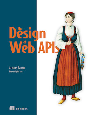 The Design of Web APIs book cover